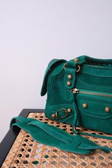 Mini sac gaga vert